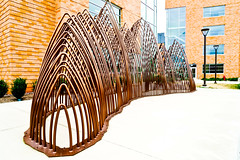 Exterior Art (k4eyv) Tags: samhoustonstateuniversity huntsville huntsvilletexas texas sonya7ii sonyzeiss2470lens art sculpture