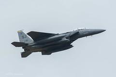 USAF, McDonnell Douglas F-15E Strike Eagle (87-0181/SJ), 4th FW/336th FS (mattmckie98) Tags: aircraft aviation airforce usaf us military lakenheath fighter f15 jet nikon