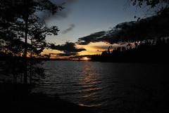 DSC_0485 (MSchmitze87) Tags: schweden sweden dalsland kanu canoeing see lake sunset