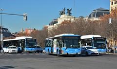 Madrid, Paseo de la Infanta Isabel 04.01.2019 (The STB) Tags: madrid bus autobus autobús busse publictransport citytransport öpnv transportepúblico transporteurbano