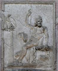 Stucco Relief of Neptune (chdphd) Tags: campania pompeii art stabianbaths stabian baths