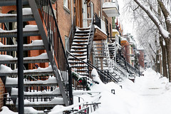 022-plateau-photo susan moss (The Montreal Buzz) Tags: montreal quebec canada neige snow snowing winter plateau architecture stairs stairway