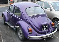 Volkswagen Beetle (7493ZH). (Fred Dean Jnr) Tags: volkswagen beetle 1200 7493zh zh merrionsquaredublin november2013