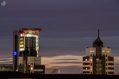 I grattacieli del portello. Milano (diegoavanzi) Tags: canon eos7d milano milan italia italy lombardia lombardy grattacieli skyscrapers portello tramonto sunset