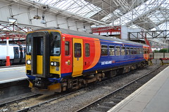 East Midlands Trains Super Sprinter 153382 (Will Swain) Tags: station 31st july 2018 crewe london greater city centre capital south train trains rail railway railways transport travel uk britain vehicle vehicles england english europe east midlands super sprinter 153382 class 153 382 emt stagecoach group