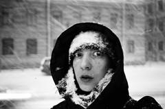 self (nastyadenisova) Tags: film saintpetersburg self selfportrait blackandwhite olympusmju olympusmjuii μmjuii snow снег
