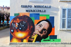Music center - by WIZ ART (Wiz Art) Tags: wiz writing writer wizboy wall wizart wallart wizartgraffiti artwork aerosolart art artist streetartist streetstyle sprayart spray sprayartist street streetart spraypaint detail decoration flickrgraffiti futurism face graffitiartist graffitism graffitiart graffiti graff legality hardcore photography kobra loopcolors puppet colors montana italy ironlak murales urbanart urban mtn94 bergamo nbq belton