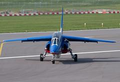Alpha Jet E146 F-UHRR 5 PdF (spbullimore) Tags: airport cambridge 2018 lair armee force air french france epaa 20300 patrouille de dassault alpha jet e e146 fuhrr 5