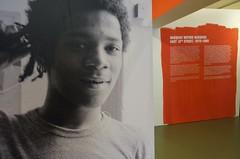 Basquiat, the artist (JoséDay) Tags: museumschunck jeanmichelbasquiat newyork 19601988 graffiti graffitinewyork exhibition art kunst aldiaz samo© sameoldshit soho 80ty colabcollaborativeprojectsinc thetimessquareshow heerlen limburg thenetherlands museum tentoonstelling