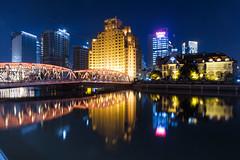 外白渡橋 001 (A.S. Kevin N.V.M.M. Chung) Tags: shanghai night china city 魔都 上海 building horizon skyline