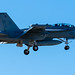EA-18G GROWLER GOING AROUND IN THE BLUE YONDER OVER OLF COUPEVILLE