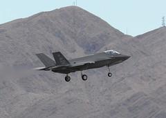 Nellis AFB,Las Vegas 08Mar19.06 (Pervez 183A) Tags: nellisafb lasvegas nevada usaf stealthfighter mostexpensive f35 lockheed
