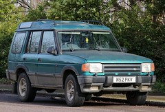 N52 PKV (Nivek.Old.Gold) Tags: 1995 land rover discovery tdi xs auto 5door 2495cc ernrickmotors