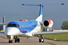 G-RJXH (AnDyMHoLdEn) Tags: bmi embraer egcc airport manchester manchesterairport 23l