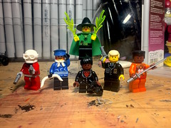 Vintagecide Squad (Lord Allo) Tags: lego classic vintage suicide squad deadshot captain boomerang amanda waller bronze tiger rick flag enchantress
