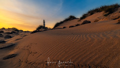 Faro de Trafalgar (Fran-Garrido) Tags: nikon d750 irix15mmf24 qdd malaka farodetrafalgar cañosdemeca cádiz atardecer puestadesol playa sol costa arena dunas fb 500px