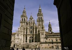 Santiago..!! (Camelia-5) Tags: coruña santiago catedral arquitectura