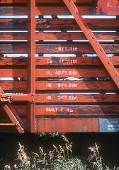 CB&Q Class SM-19B 53019 (Chuck Zeiler 54) Tags: cbq class sm19b 53019 burlington railroad stockcar stock car freight train chz edwardmderouin fugta