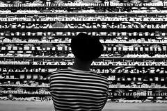 Japan - Tokyo (luca marella) Tags: moriartmuseum blackwhite bw biancoenero japan museum art lucamarella stripes bnw bn