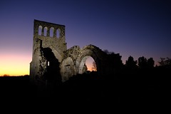 2019:080/365. Church ruin at sunset, France (Laila Bakker) Tags: 365the2019edition 3652019 day80365 21mar19
