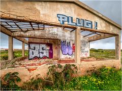 Abandoned or unfinished residence at Ponta da Atalaia (Luc V. de Zeeuw) Tags: atalaia cloudy house pontadaatalaia ruin sagres algarve portugal