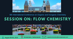 Flow Chemistry (Conference on Organic and Inorganic Chemistry) Tags: flowchemistry conference meetings exhibitor technology application