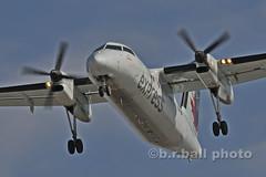 BRB_6704cesn c (b.r.ball) Tags: brball yyz torontopearsoninternationalairport aviation aircanadaexpress dehavilland dhc8102