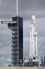 ArabSat6a Falcon Heavy by SpaceX (Michael Seeley) Tags: arabsat6a falconheavy lc39a mikeseeley wereportspace elonmusk rocket spacex