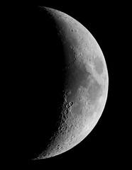 The Moon 10th April 2019 (ukmjk) Tags: moon astro astronomy lunar nikon d500 staffordshire stoke registax pipp ice microsoft