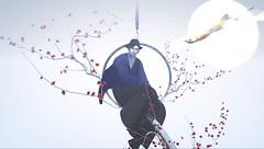 寒梅-KANBAI (Bisou @ The Outer Garden) Tags: deco {anc} 書生 ss 3ⅾ secondlife japonica avatar 2018 open sl セカンドライフ inworld moon secondlife virtualworld kanbai 寒梅