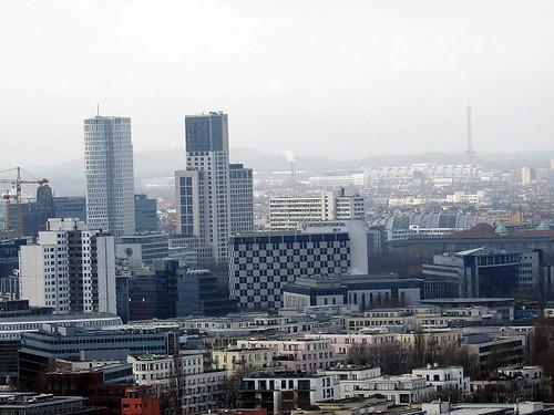 Berlin vorn Jahreswechsel