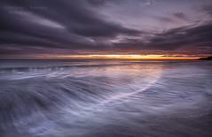 Shoreline (Elidor.) Tags: shoreline sunrise spittal northeast northumberland berwickupontweed beach sea waves clouds dawn elidor d90