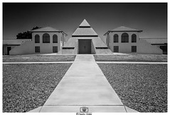 - Temple and Towers - (claudiov958) Tags: biancoenero blancoynegro claudiovaldés černýabílý noiretblanc pretoebranco sonyarm3 blackwhite czarnyibiały schwarzundweiss черноеибелое ngc nikkor2470mmf28 building pyramid architecture