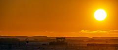 Sunset Over the Control Tower (stevedewey2000) Tags: salisburyplain wiltshire landscape winter sunset orange gold golden red controltower netheravonairfield airfield aerodrome 2351 tamron150600