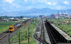 Next Stop Geneva Steel (jamesbelmont) Tags: caboose riogrande drgw geneva steel mill orem utah lakota slag ballast vineyard
