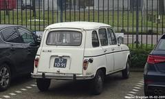 Renault 4 TL 1975 (XBXG) Tags: 37yd91 renault 4 tl 1975 renault4 r4 requatre 4l quatrelle blanc white hje wenckebachweg amsterdam nederland holland netherlands paysbas vintage old classic french car auto automobile voiture ancienne française france vehicle outdoor
