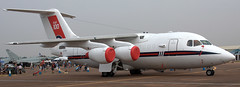 BAe-146 ZE700 (707-348C) Tags: raffairford fairford egva britishaerospace bae146 airliner jetliner passenger bae military england royalairforce raf riat airshow raf100 specialcolours airtatoo b461