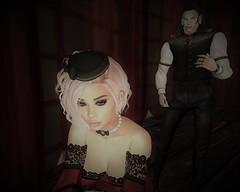 bite me (missbebinou) Tags: goth vampire