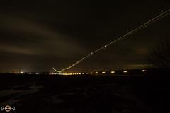 Nightshot (B-Focused) Tags: nightshot sky flughafen paderborn lippstadt