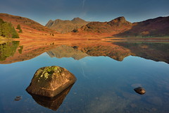 Pikes in reflection (images@twiston) Tags: bleatarn langdales goldenhour tarn first light rocks stones boulders contrail lake cumbria lakedistrict lakeland thelakes nationalpark nationaltrust fell fells cumbrian mountains landscape imagestwiston countryside mountain still water reflection reflections morning mirror blue englishlakedistrict lakes reflected waterreflections sunrise dawn calm serene stupidoclock langdalepikes sidepike lingmoorfell pikeoblisco pikes greatlangdale littlelangdale unesco worldheritagesite gnd neutraldensity grad polarizer cpl nisi