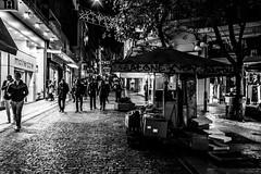 Street Shop, Athens, Greece (Davide Tarozzi) Tags: streetshop athens greece grecia streetfood atene blackandwhite blackwhite biancoenero notturno notte αθήνα ελλάδα street strade