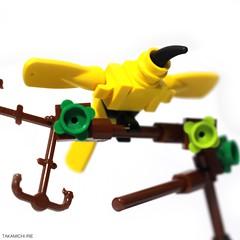 Yellow Bird (Takamichi Irie) Tags: lego small animals bird art design animal wild
