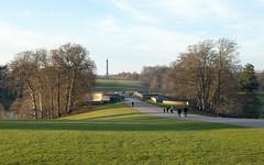Grand Bridge and Column of Victory | Blenheim Palace | Feb 2019-85 (Paul Dykes) Tags: woodstock england unitedkingdom gb uk blenheimpalace johnvanbrugh englishbaroque duke marlborough churchill