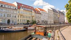 Spreekanal (Me in ME) Tags: berlin germany canal spreekanal fences hff