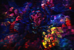 she... (Mark Noack) Tags: light color photoshop layer layering surreal expressionism abstract psychedelic futurist abstraction