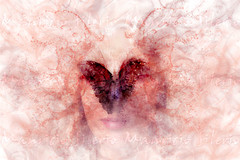 when the soul opens its wings (Mau Silerio) Tags: portrait farfalla butterfly papillon beautiful beauty model modeling posing surreal surrealism soul splash