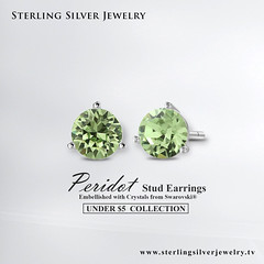 Peridot Color Stud Earrings Adorned with Crystals from Swarovski (SterlingSilverJewelry1) Tags: sterlingsilverjewelry jewellery jewelry fashion accessories handmade style love silver jewels design handmadejewelry jewelrydesigner luxury beautiful jewellerydesign wedding jewelrydesign earrings silverjewelry gemstonejewelry gemstone jewelryaddict jeweleryfashion jewelrylover jewelrysuppliers jewelrymaker jewelrymaking earringsdaily lookbook ontrend earringsoftheday crystals swarovskicrystals