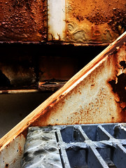 Stairs (JRW Photo Gallery) Tags: abstract rust stairs lines metal