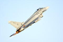 _DSC7312 (fjsmalaga) Tags: eurofighter typhoon ejercito aire armada avion reactor ngc estela rastro postcombustión llamas