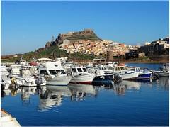 Prove d' estate.. (antonè) Tags: castelsardo panorama porto barche mare riflessi sardegna antonè